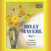 Mayerl, Billy: Billy Mayerl, Vol.  1 (1925-1936) - CD