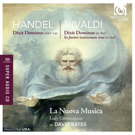 La Nuova Musica, David Bates: Handel / Vivaldi: Dixit Dominus - SACD