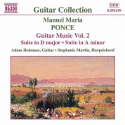 Adam Holzman: Ponce: Guitar Music, Vol.  2 - CD