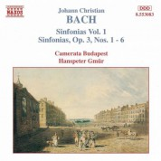 Bach, J.C.: Sinfonias, Vol.  1 - CD