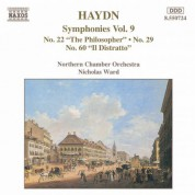 Haydn: Symphonies, Vol.  9 (Nos. 22, 29, 60) - CD