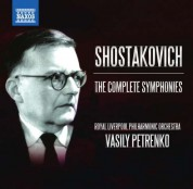 Vasily Petrenko: Shostakovich: The Complete Symphonies - CD