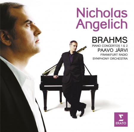 Nicholas Angelich, Frankfurt Radio Symphony Orchestra, Paavo Järvi: Brahm: Piano Concertos 1&2 - CD