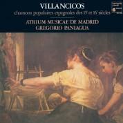 Atrium Musicae de Madrid, Gregorio Paniagua: Villancicos - Plak