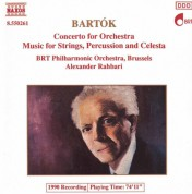 BRT Philharmonic Orchestra Brussels, Alexander Rahbari: Bartok: Concerto for Orchestra, Music for Strings Percussion and Celesta - CD