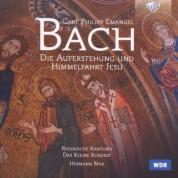 Rheinische Kantorei, Das Kleine Konzert, Hermann Max: C.P.E. Bach: Die Auferstehung und Himmelfahrt Jesu - CD