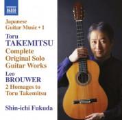 Shin-ichi Fukuda: Takemitsu: Complete Original Solo Guitar Works - CD
