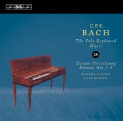 Miklós Spányi: C.P.E. Bach: Solo Keyboard Music, Vol. 28 - CD