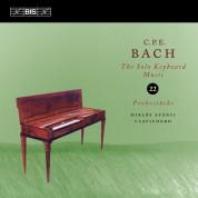 Miklós Spányi: C.P.E. Bach: Solo Keyboard Music, Vol. 22 - CD