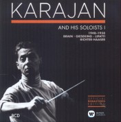Herbert von Karajan: Karajan and His Soloists 1948-1958 - CD