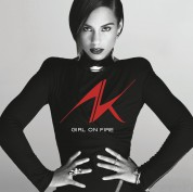 Alicia Keys: Girl on Fire - Plak