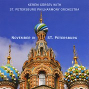 Kerem Görsev: November in St.Petersburg - CD