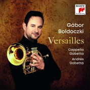 Gabor Boldoczki: Versailles - CD