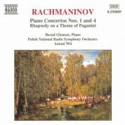 Rachmaninov: Piano Concertos Nos. 1 and 4 - CD