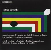 Stockholms Kammarorkester, Lev Markiz: Schnittke - Concerto Grosso No.3 - CD