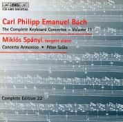 Miklós Spányi, Concerto Armonico, Péter Szűts: C.P.E. Bach: Keyboard Concertos, Vol. 11 - CD