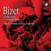 Orquestra Filarmonica de Mexico, Enrique Batiz: Bizet: Carmen Suites / L'Arlesienne Suites - CD