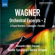 Gerard Schwarz: Wagner: Orchestral Excerpts, Vol. 2 - CD