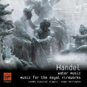 London Classical Players, Roger Norrington: Handel: Water Music, Music for the Royal Fireworks - CD