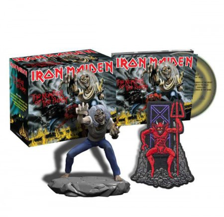 Iron Maiden: The Number of the Beast (Limited Collectors Box) - CD