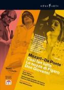 Mozart: Mozart - Da Ponte (Così fan tutte; Le nozze di Figaro; Don Giovanni) - DVD