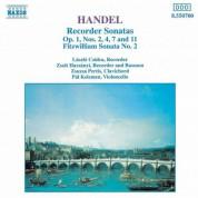 Handel: Recorder Sonatas, Op. 1, Nos. 2, 4, 7 and 11 - CD
