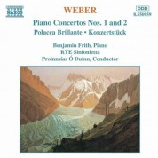 Weber: Piano Concertos Nos. 1 and 2 / Polacca Brillante - CD