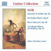 Jeffrey McFadden: Sor: Souvenir D'Amitie / 6 Petites Pieces, Op. 47 - CD