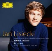 Christian Zacharias, Jan Lisiecki, Symphonieorchester des Bayerischen Rundfunks: Mozart: Piano Concertos Nos. 20 + 21 - CD