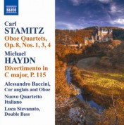 Alessandro Baccini: Stamitz, C.: Oboe Quartets, Op. 8, Nos. 1, 3, 4 / Haydn, M.: Divertimento in C Major - CD