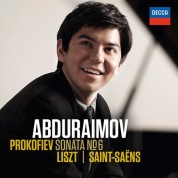Behzod Abduraimov: Prokofiev/ Liszt/ Saint-Saëns - CD