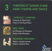 Çeşitli Sanatçılar: Asian Theatre and Dance - CD