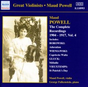 Powell, Maud: Complete Recordings, Vol.  4 (1904-1917) - CD