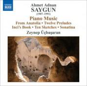 Zeynep Üçbaşaran: Saygun: 12 Preludes On Aksak Rhythms / 10 Sketches On Aksak Rhythms / Piano Sonatina - CD