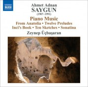 Zeynep Üçbaşaran: Saygun: 12 Preludes On Aksak Rhythms / 10 Sketches On Aksak Rhythms / Piano Sonatina - CD