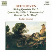 Beethoven: String Quartets Op. 59, No. 2, 'Rasumovsky' and Op. 74, 'Harp' - CD