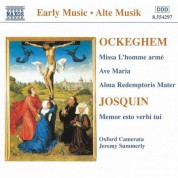 Ockeghem: Missa L'Homme Arme / Josquin: Memor Esto Verbi Tui - CD