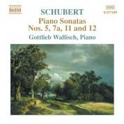 Schubert: Piano Sonatas Nos. 5, 7A, 11 and 12 (Fragments) - CD