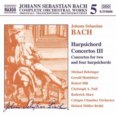 Çeşitli Sanatçılar: Bach, J.S.: Harpsichord Concertos, Vol.  3 - CD