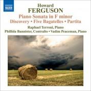Raphael Terroni: Ferguson, H.: Piano Sonata in F minor - CD