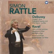Sir Simon Rattle: Debussy / Ravel - CD