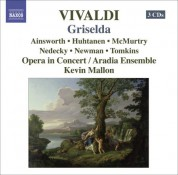 Kevin Mallon: Vivaldi: Griselda - CD