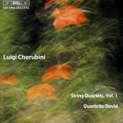 Quartetto David: Cherubini: Complete String Quartets, Vol. 1 - CD