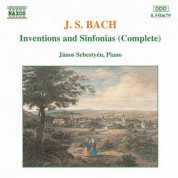 Bach, J.S.: Inventions and Sinfonias, Bwv 772-801 / Anna Magdalena's Notebook (Fragments) - CD