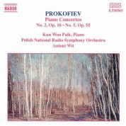Prokofiev: Piano Concertos Nos. 2 and 5 - CD