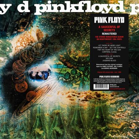 Pink Floyd: A Saucerful Of Secrets (2016 Remastered Version) - Plak