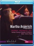 Martha Argerich: Verbier Festival - Martha Argerich: Beethoven, Shostakovich concertos in Verbier - BluRay