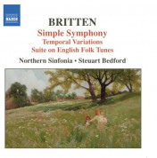 Steuart Bedford: Britten: Simple Symphony / Temporal Variations / Suite On English Folk Tunes - CD