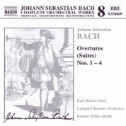 Cologne Chamber Orchestra: Bach: Overtures (Suites) Nos. 1-4 - CD