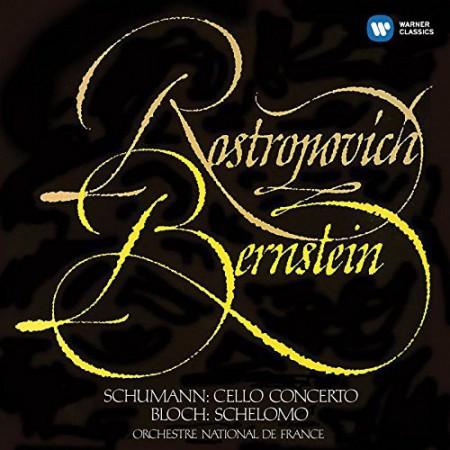 Mstislav Rostropovich, Leonard Bernstein, Orchestre National de France: Schumann / Bloch: Cello Concerto / Schelomo - CD